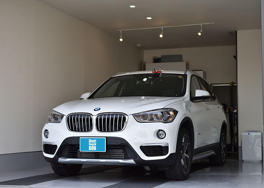 BMW X1のガラスリペア