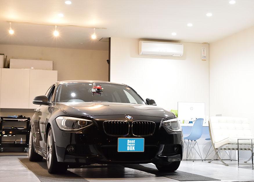 BMW1シリーズ フロントガラスリペア
