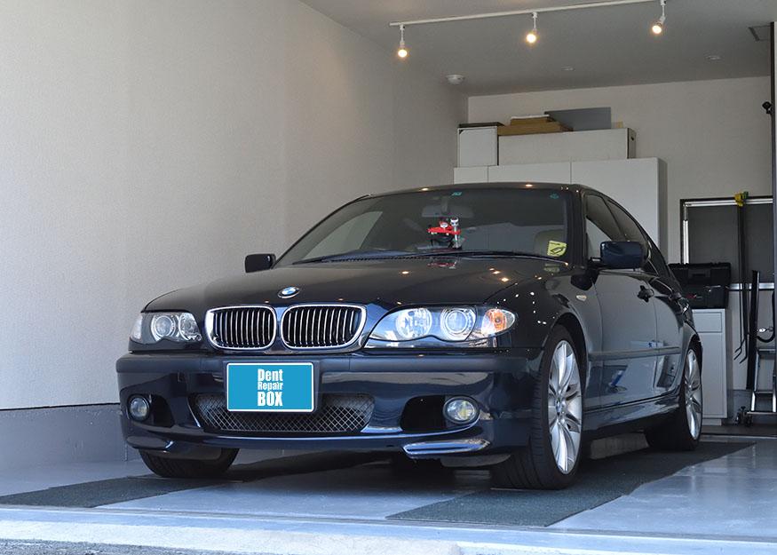 BMW 3シリーズ フロントガラスリペア