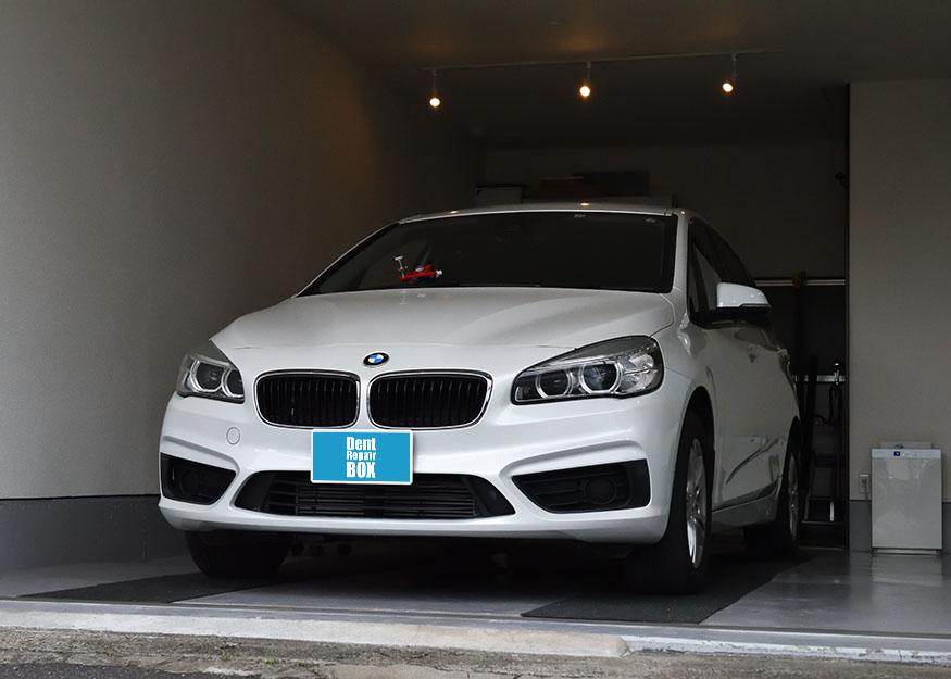 BMW 218d フロントガラスリペア