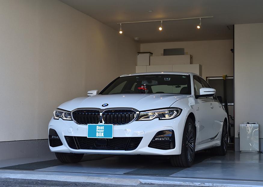 BMW 3シリーズのガラスリペア