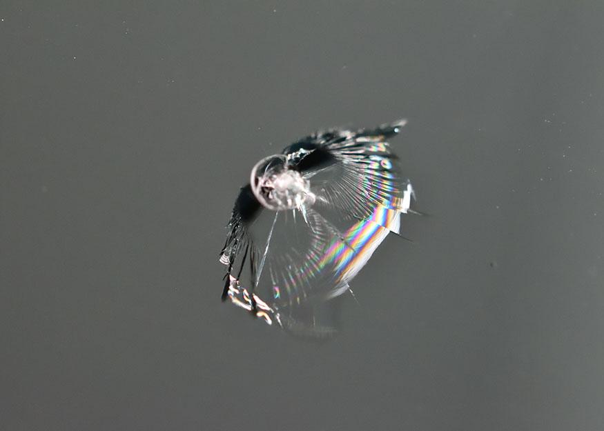 レガシィB4 フロントガラスリペア